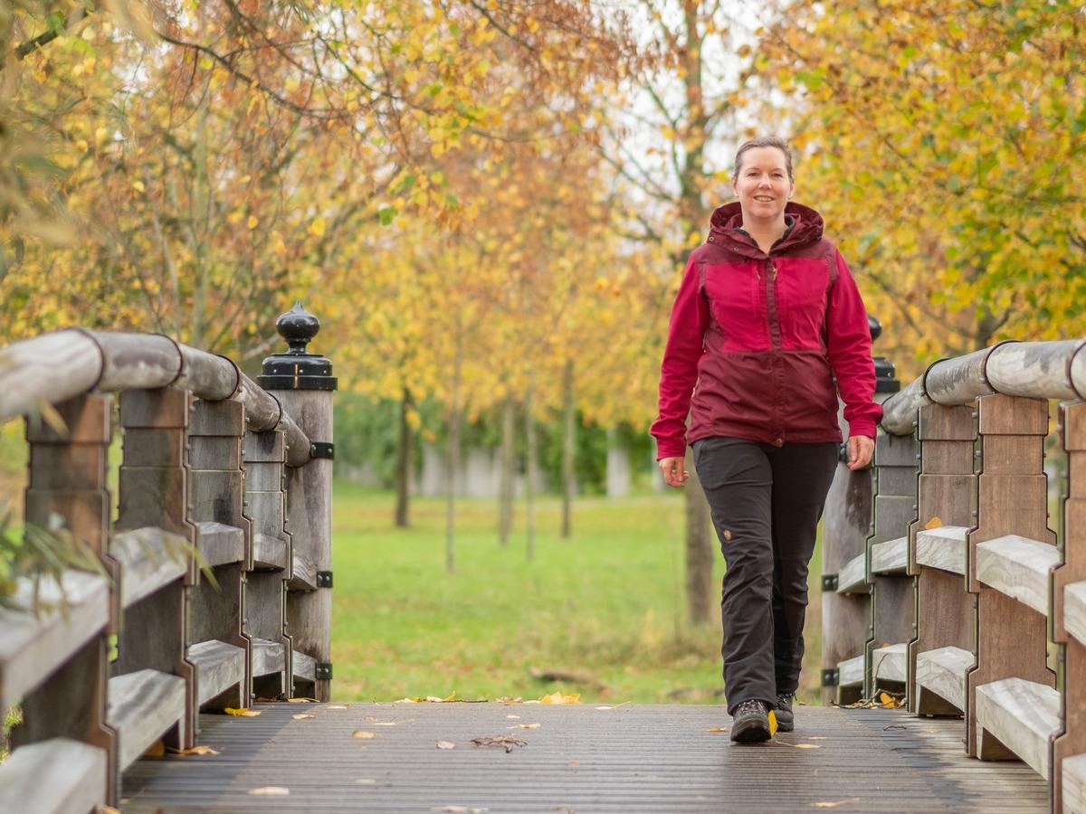 starten met wandelen met wandeltrainer Wanda